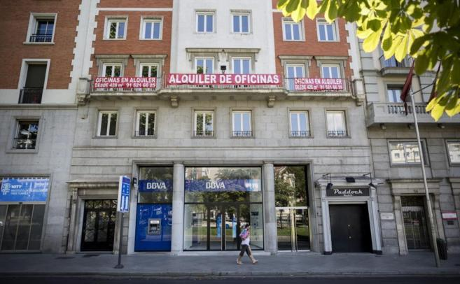 El edificio donde se instalará la nueva sede de Ciudadanos.