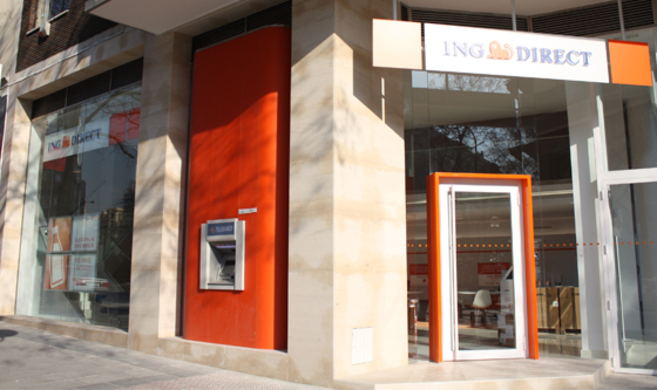 Sucursal situada en la calle San Bernardo, Madrid