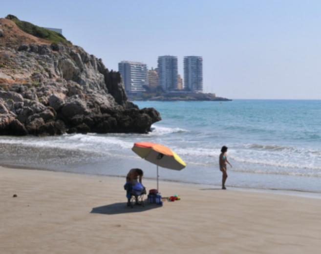 Una de las playas de Oropesa del Mar.