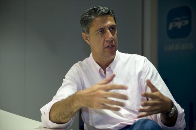 El candidato del PP a las elecciones catalanas, Xavier García Albiol