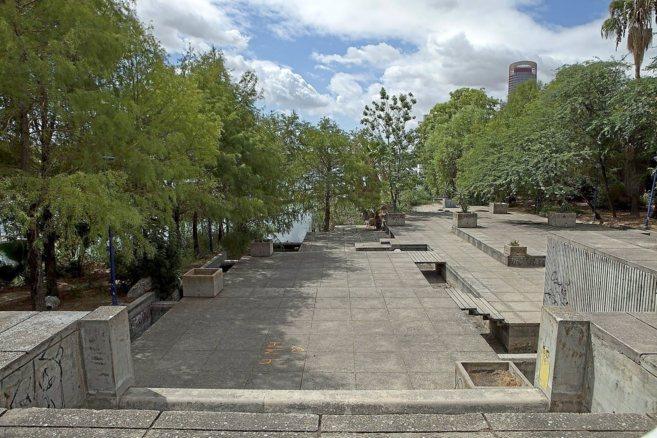 El Jardín Americano en la actualidad.
