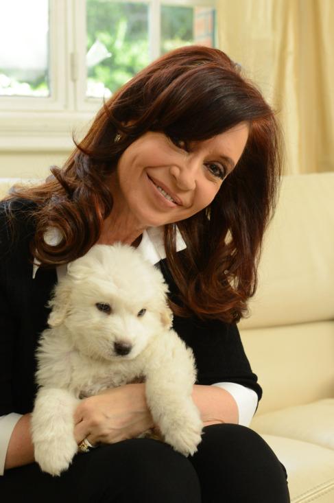 La presidenta argentina Cristina Kirchner.