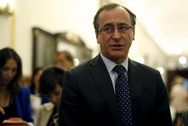 El ministro Alonso, en una imagen de archivo.