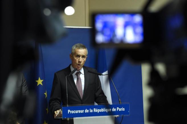 El fiscal Francois Molins explica detalles de la investigación sobre...