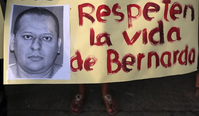 Protestas en Nicaragua pidiendo la paralización de la condena de...