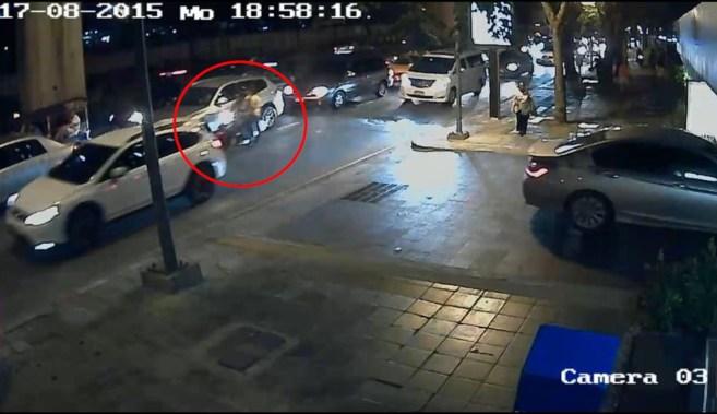 Imagen de una de las cámaras de seguridad que muestra la principal...