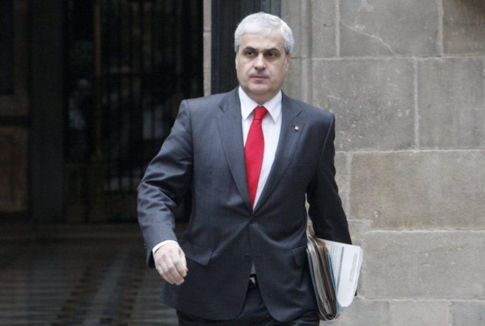 El conseller de Justicia catalán, Germà Gordó.