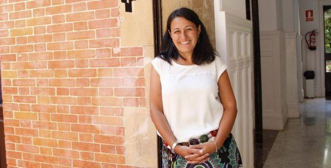 Raquel Ayuda en el Palacio Miramar de San Sebastián