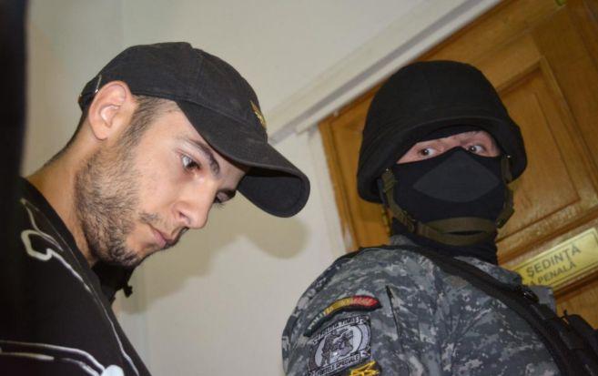 Sergio Morate, durante una de sus llegadas al Tribunal de Timisoara.