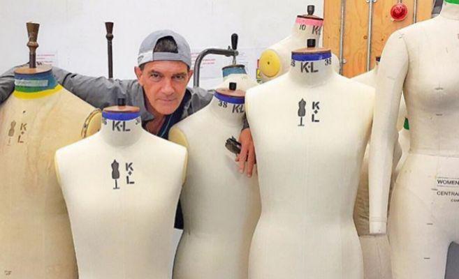 El actor Antonio Banderas en una de sus clases de diseño en Central...