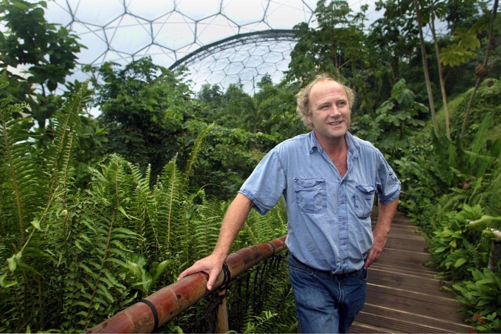 Tim Smit, holandés de 60 años, y creador del Proyecto Edén. Antes...