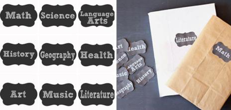 Ideas Para Personalizar El Material Escolar Sapos Y Princesas El