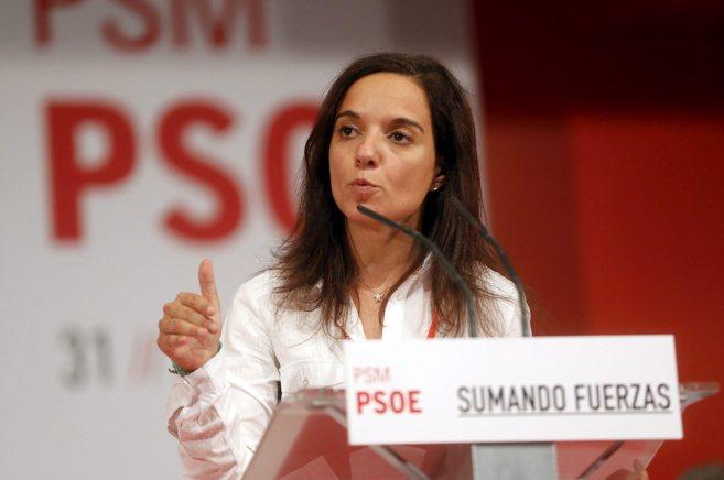 Sara Hernández en el Congreso Regional del PSOE