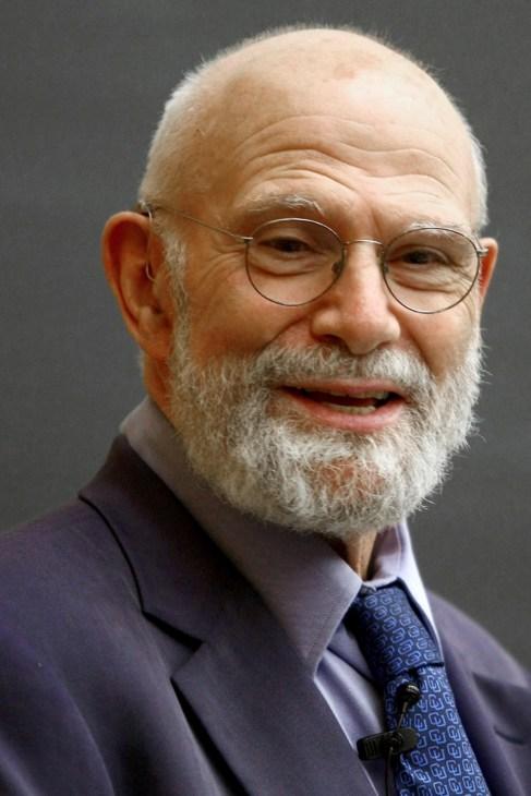 Oliver Sacks en la Universidad de Columbia.