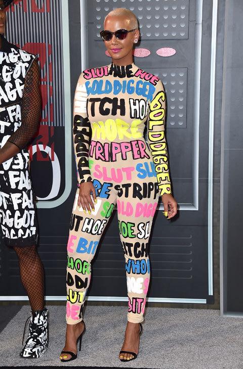 VMAs 2015 Amber Rose