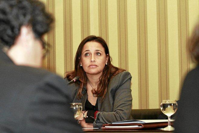 La ex consellera de Sanidad Aina Castillo.