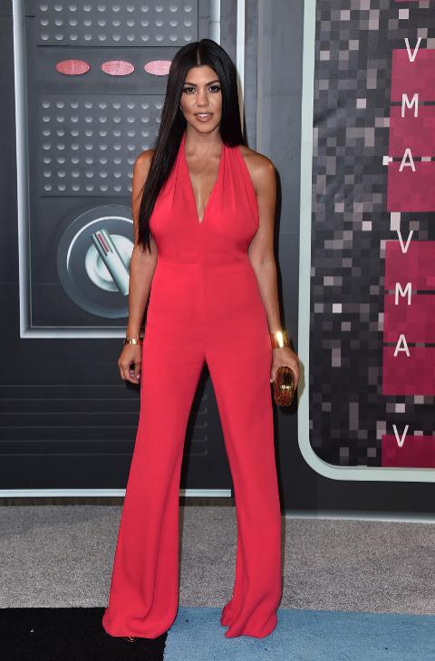 Kourtney Kardashian VMAs 2015