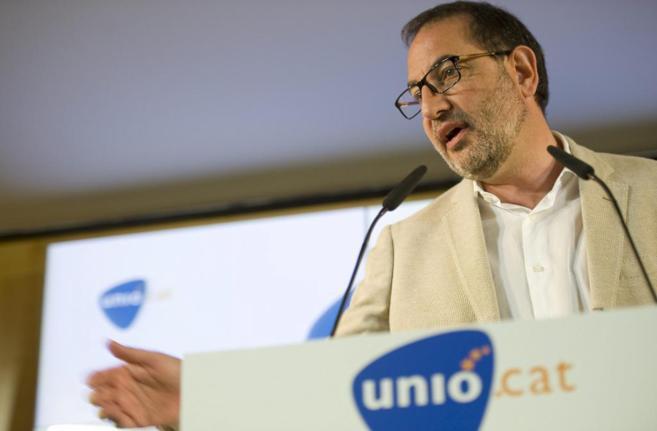 El candidato de Unió al 27-S, Ramon Espadaler, en una imagen de...