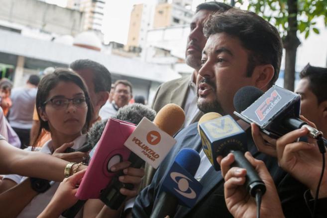 Roberto Marrero, uno de los defensores del líder opositor venezolano...