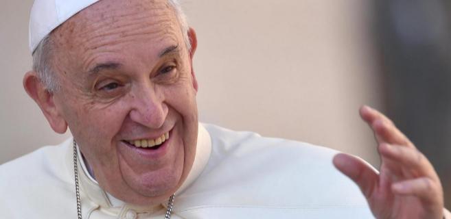 El Papa Francisco en una imagen de la pasada semana en la plaza de San...