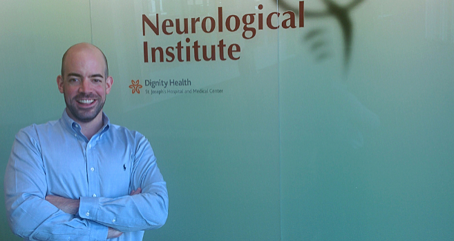 Pablo de Gracia trabaja en el Barrow Neurological Institute, de...