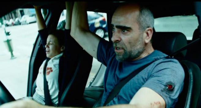 El actor español Luis Tosar en un fotograma de 'El...