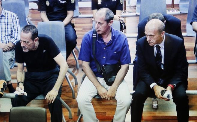 Julián Muñoz y Del Nido, en el banquillo de los acusados. ANTONIO...