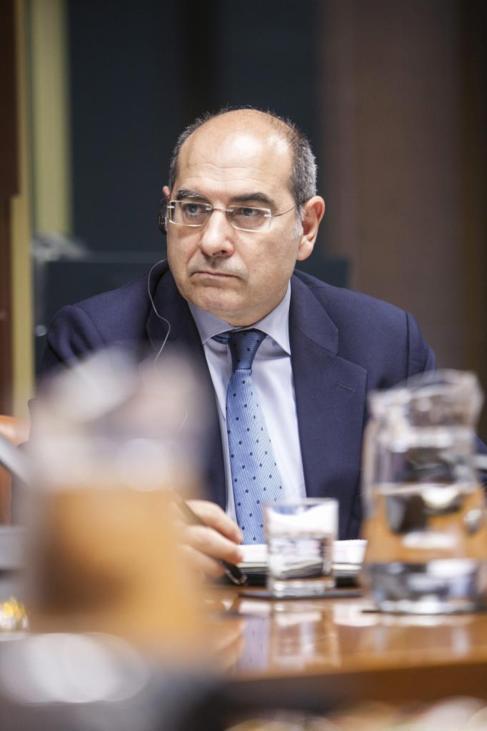 Jon Darpón, consejero de Salud del Gobierno vasco