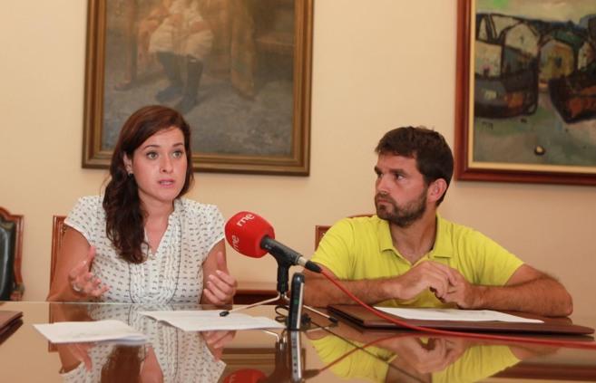 Enric Porcar y Sara Usó.