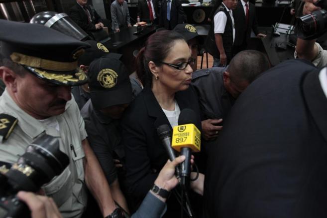 La ex vicepresidenta guatemalteca Roxana Baldetti.