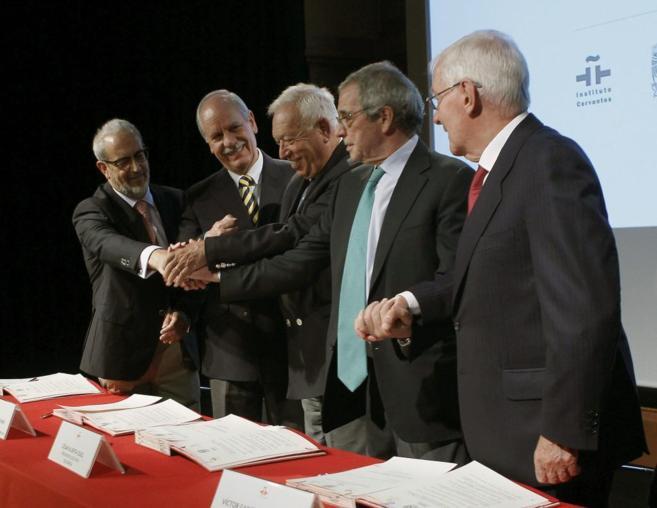 El ministro de Asuntos Exteriores, José Manuel García Margallo...
