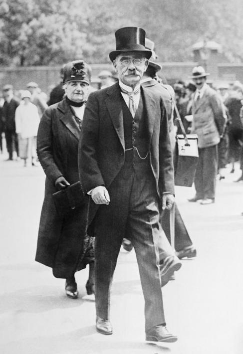 Rudyard Kipling en 1925.