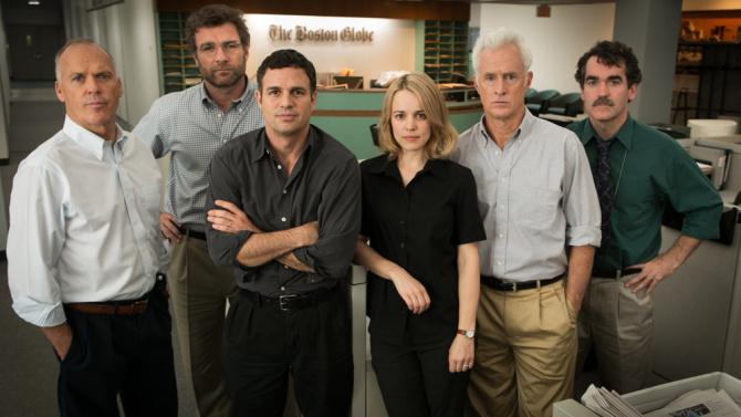 Michael Keaton, Mark Ruffalo  y Rachel McAdams destacan en el reparto...