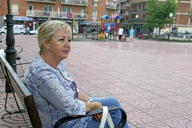 Montserrat Gassull, ex concejala de ERC, en la Plaza de les Monges de...