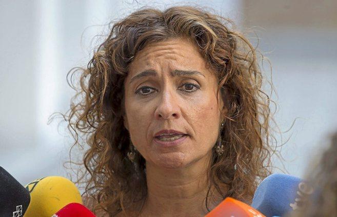 María Jesús Monterio, consejera de Hacienda del Gobierno de Susana...