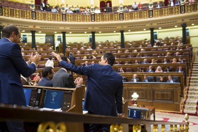 Congreso de los Diputados en el último pleno en agosto.