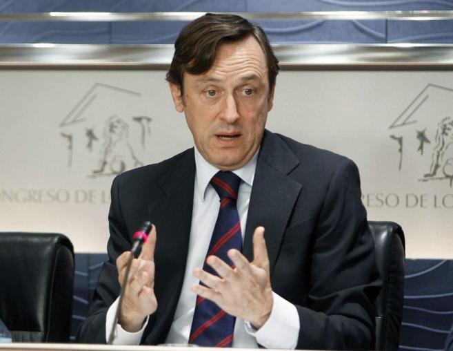 El portavoz parlamentario 'popular', Rafael Hernando.