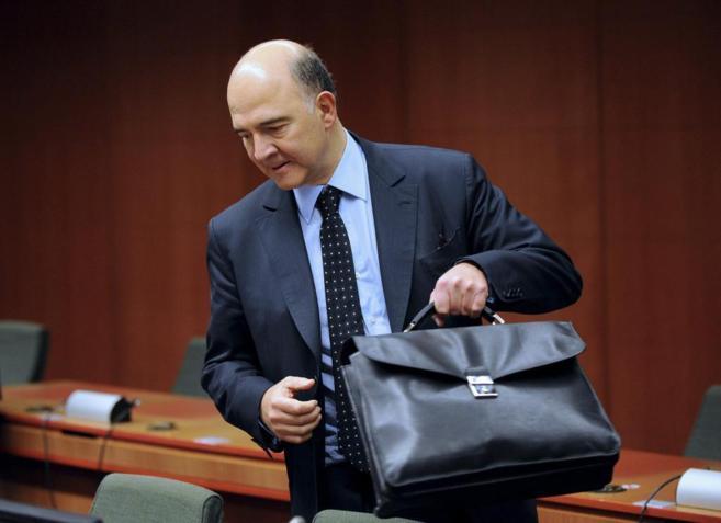 El comisario europeo de Economía, Pierre Moscovici