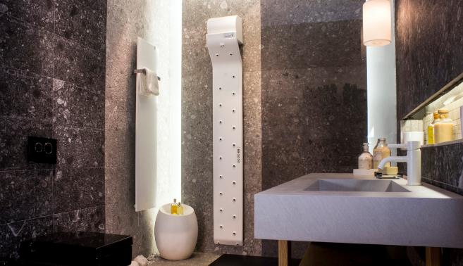 El secador corporal Valiryo con 23 difusores que se distribuyen por...