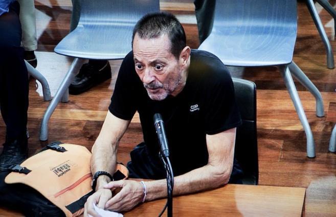 La imagen de Julián Muñoz en su comparecencia esta semana ante los...