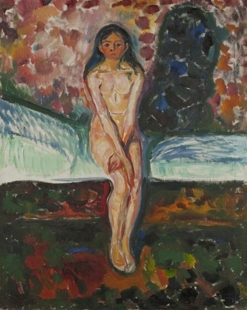 'Pubertad', de Edvard Munch, de la exposición...