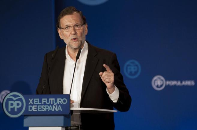 Mariano Rajoy, en la clausura de la escuela de verano de su partido en...