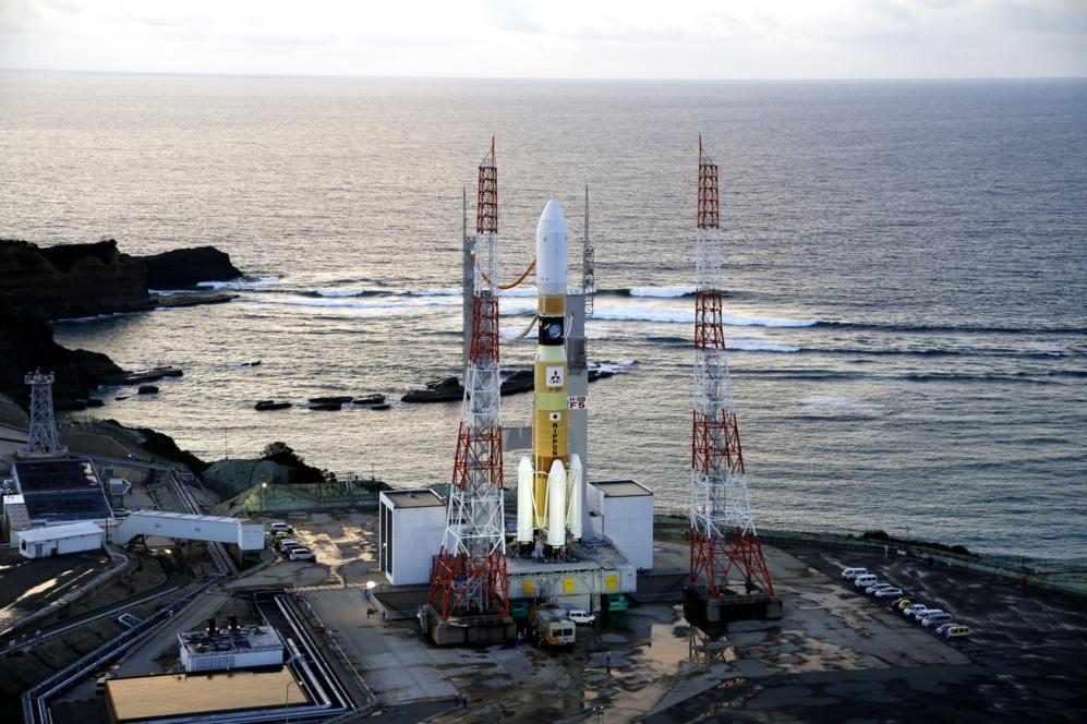 Lanzamiento del carguero japonés Kounotori en el que viajó el...