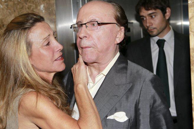 Ruiz-Mateos, acompañado por su hija en los Juzgados de Palma de...