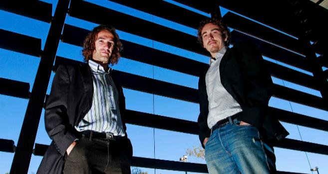 Sanifit Bernat Isern y Joan Perelló, fundadores de Sanifit, en el...