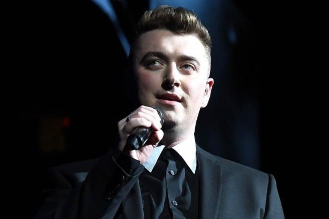 Sam Smith, durante un concierto en Londres.