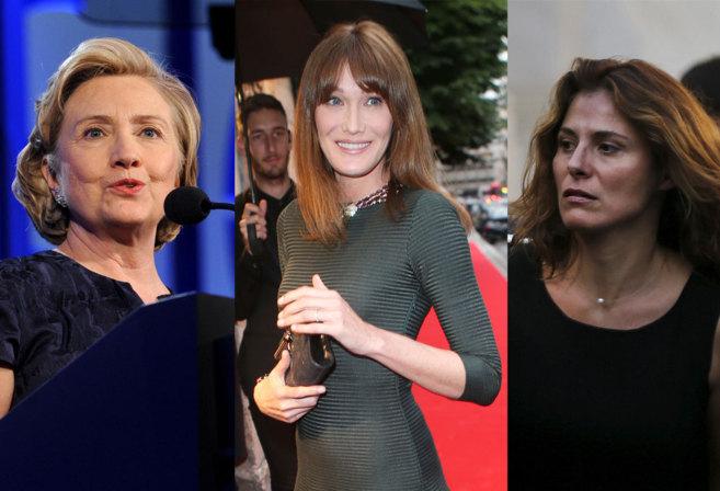 Tres primeras damas, tres facetas diferentes de la política.