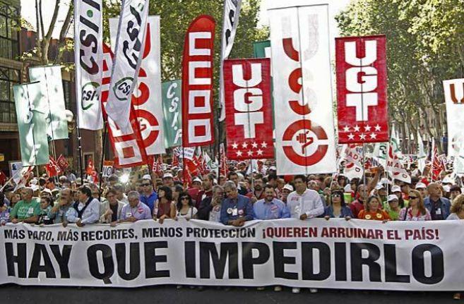 Distintos grupos sindicales secundan una huelga