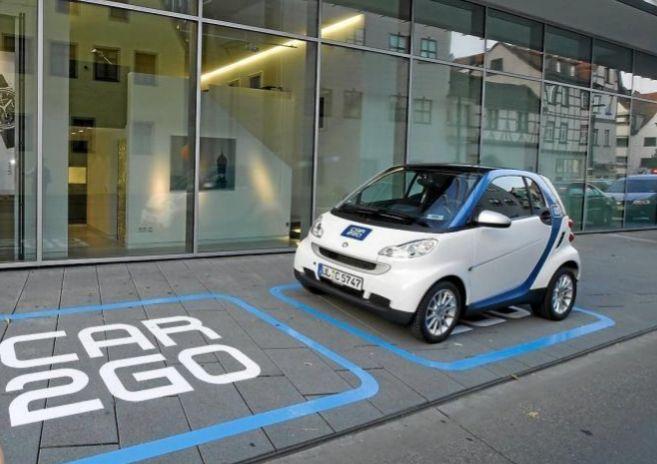 Modelo de Smart de Car2go que se podrá alquilar por minutos en Madrid...