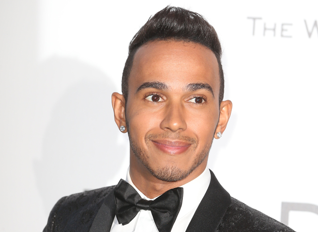 El piloto de Fórmula 1 Lewis Hamilton